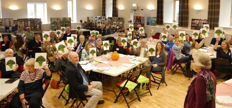 The Gathering 2015 feedback session at Gartmore Village Hall