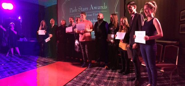 Skills Partnership - 'Park Previews' Award Ceremony, October 2015