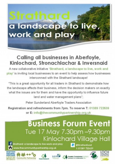 Business Forum Flyer 17 May